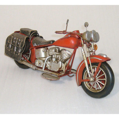 Classic Motorbike-red - WORLD OF DECOR