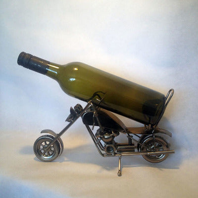 WINE BOTTLE HOLDER MOTORBIKE