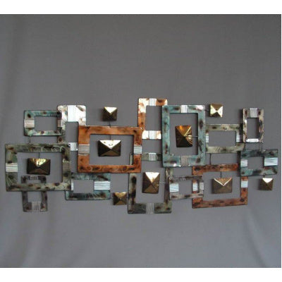 Abstract rectangular wall art - WORLD OF DECOR