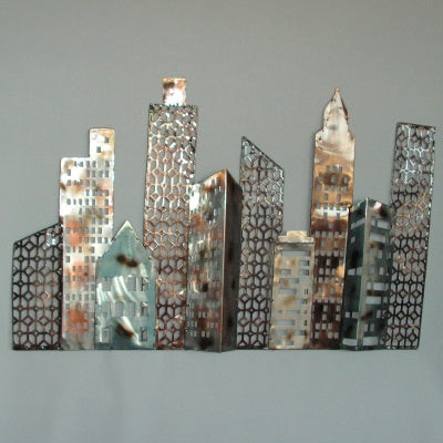 City Skyscape Wall Art