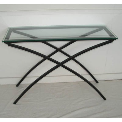Glass hall table - WORLD OF DECOR