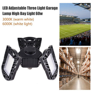 Triple LED Adjustable Light - 60W