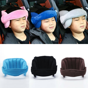 Adjustable Head Support for Child's Car Seat