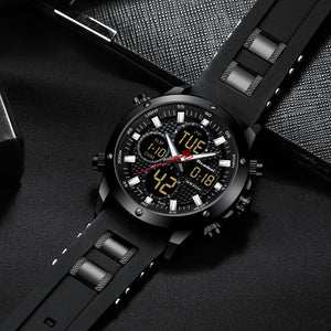 Dual Display Sports Men's Watch