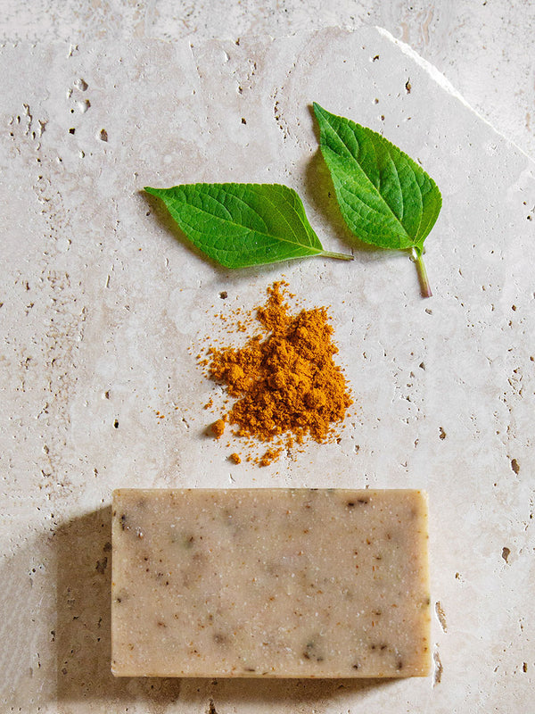 4 pack neem and turmeric soap