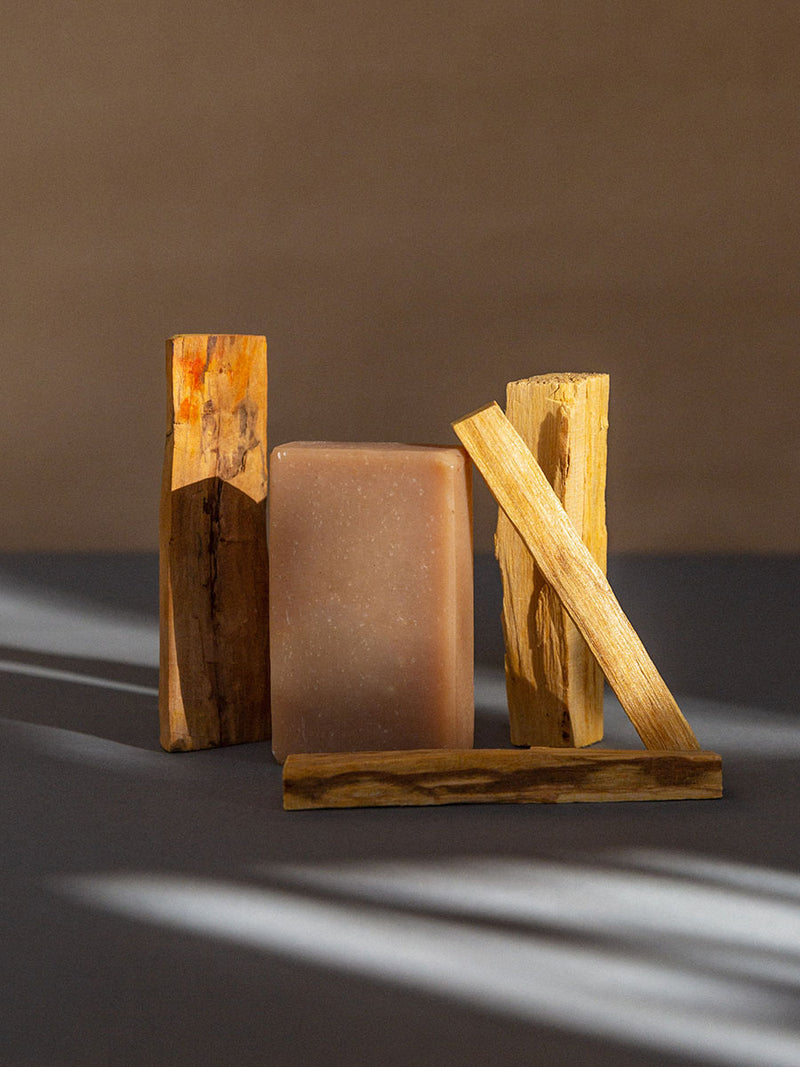 4 pack sandalwood and patchouli soap