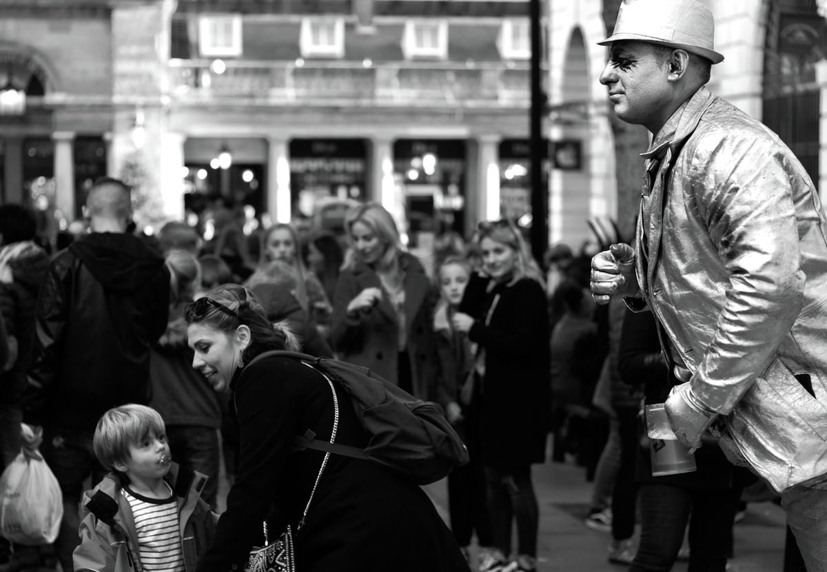 Street Performer, Covent Garden