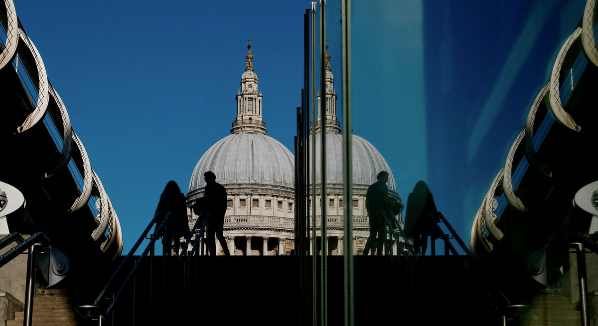 Reflections, St Paul's Cathedral, London