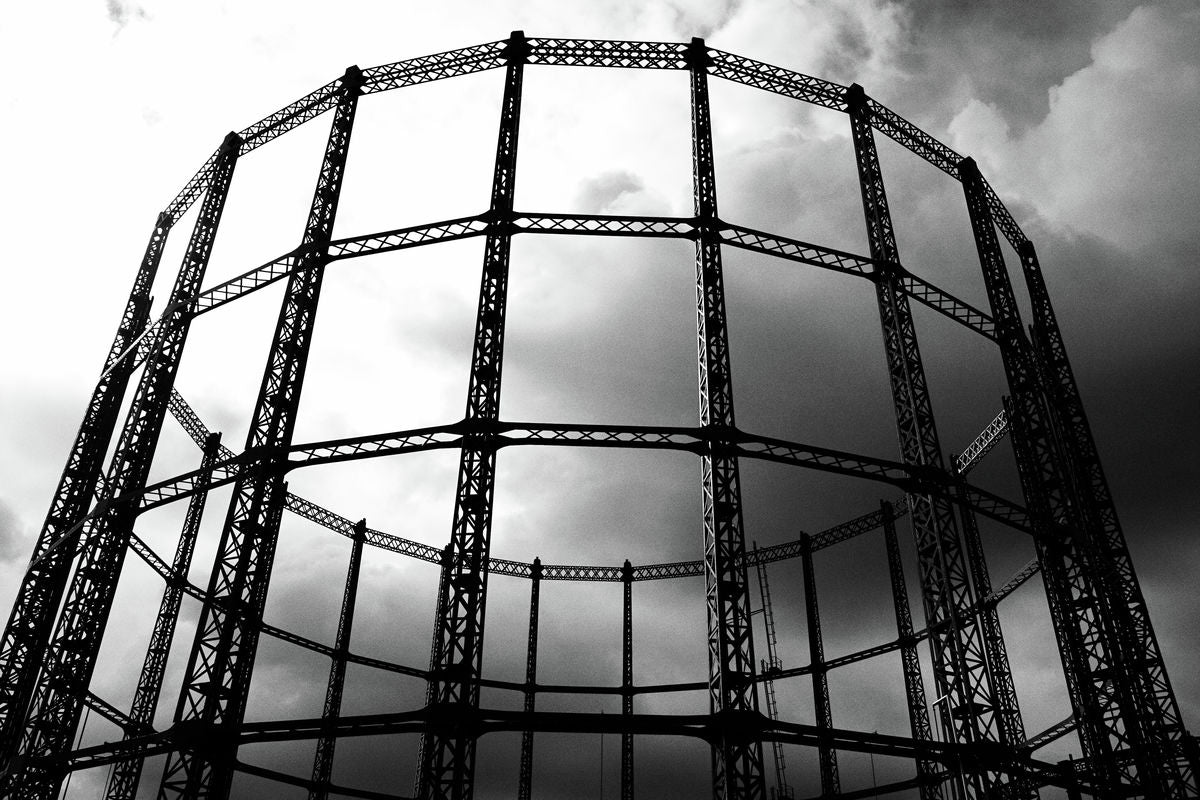 Gas Holder, Regent's Canal, Hackney
