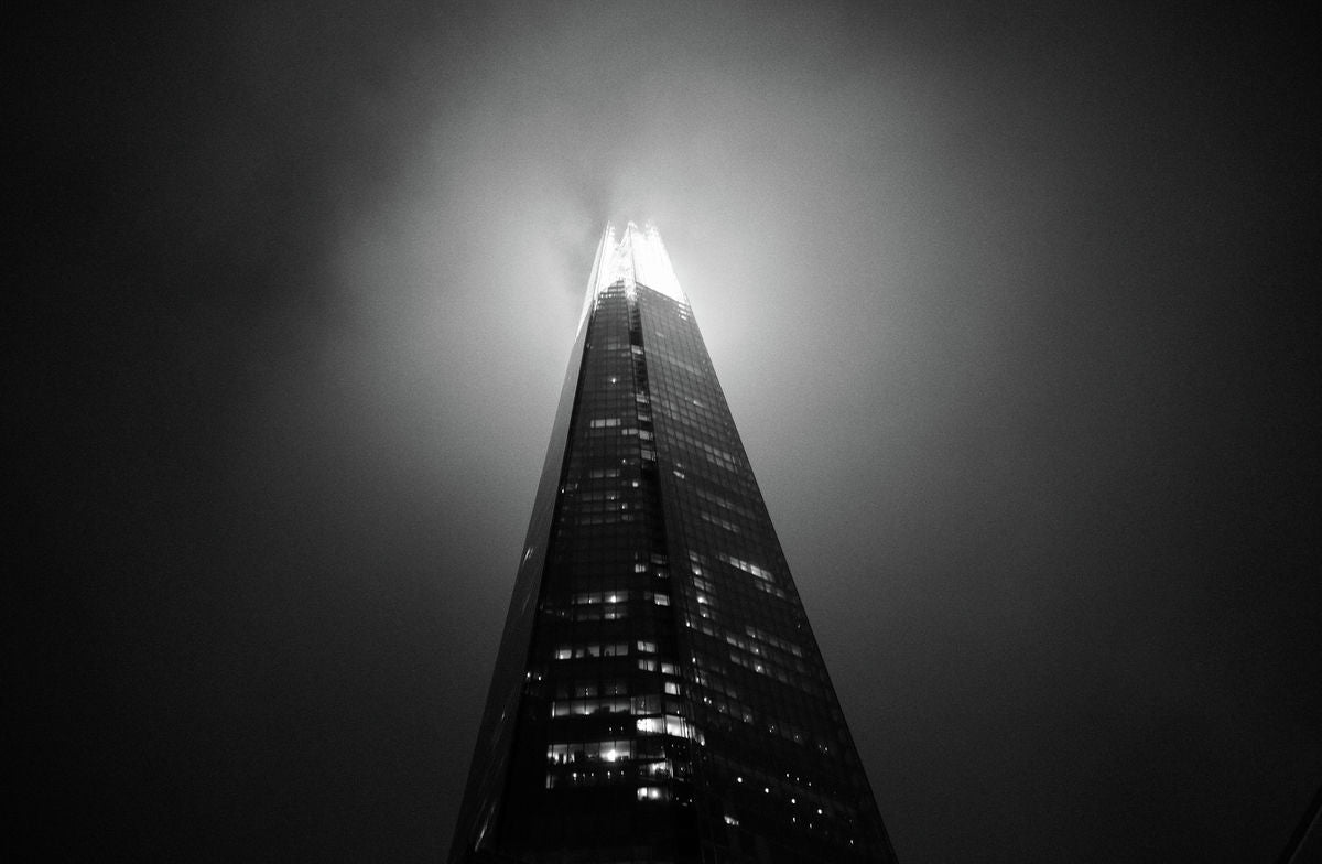 Shard in mist, London
