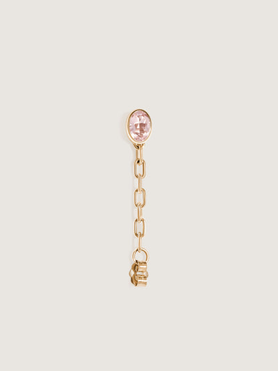 Doublemoss Catena Earring Collection. Available in 14k Yellow, White, & Rose Golds and various precious gemstones.