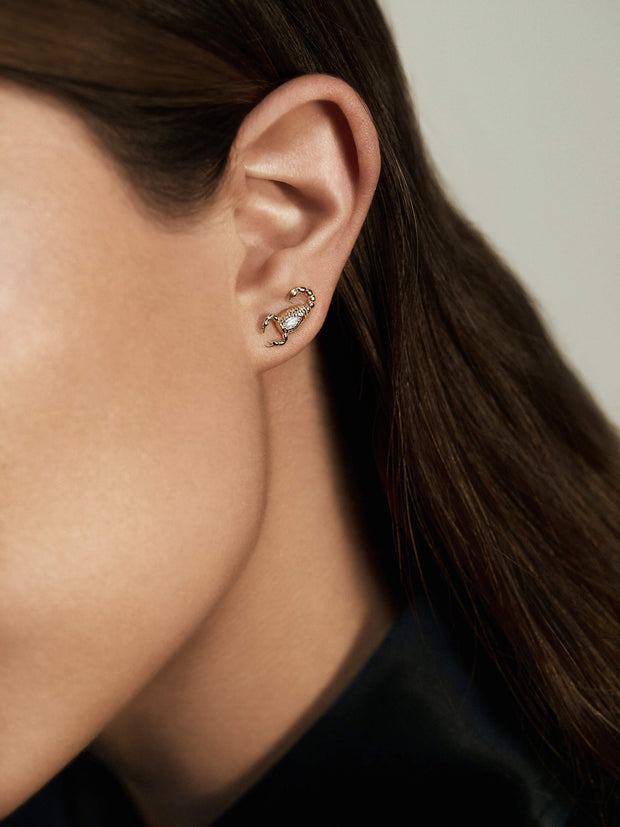 Skorppio Diamond Earrings