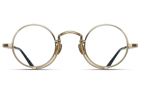Brushed Gold 10103H Matsuda Eyewear ABC Glasses