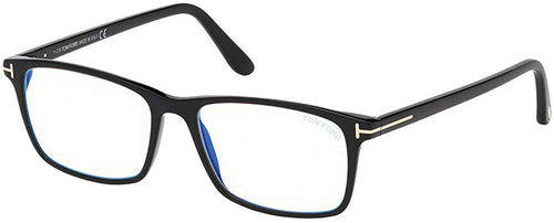 Tom Ford Eyeglasses -  FT 5584 B 001 Shiny Black
