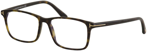 Tom Ford Eyeglasses - FT 5584B 052 Shiny Dark Havana