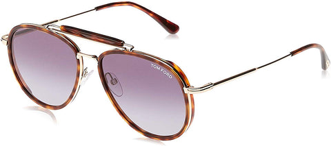Tom Ford Sunglasses - FT0666 Tripp 54W Red Havana