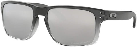 Oakley Holbrook Sunglasses Dark Ink Fade with Chrome Iridium Polarized Lens