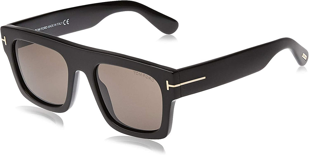 Tom Ford Sunglasses - Fausto FT0711 01A Shiny Black