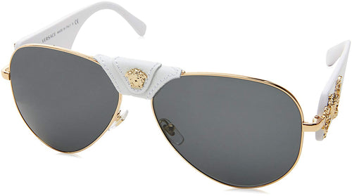 Versace VE2150 Medusa Aviator Sunglasses