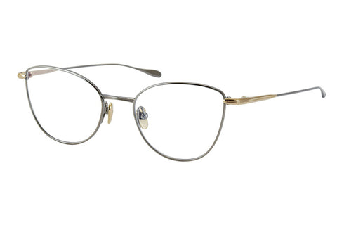 #11 Black Silver Alicia Masunaga Eyewear ABC Glasses