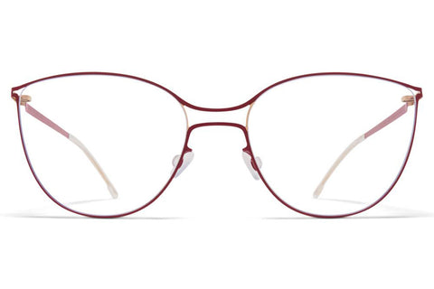 Champagne Gold/Cranberry Bjelle Frame Mykita Optical ABC Glasses