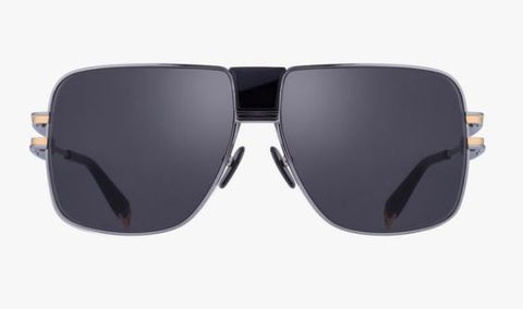 Balmain Sunglasses - 1914 Black and Dark Gray