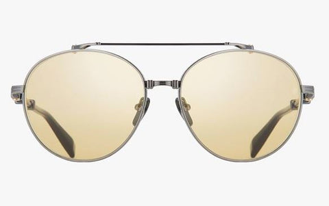 Balmain Sunglasses - Brigade Black and Gold Tone