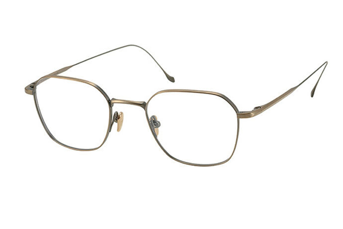 #11 AT-Gold Chord G Masunaga Eyewear ABC Glasses