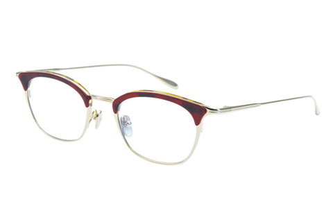 #27 RED-DEMI/GP Ella Masunaga Eyewear ABC Glasses