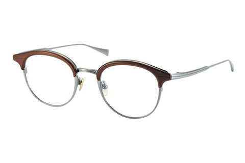 #13 BROWN/GRY Ellington Masunaga Eyewear ABC Glasses