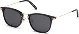 Tom Ford FT0672 Beau Black Sunglasses ABCGlasses.com