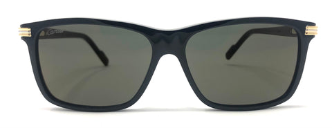 Cartier C Décor CT0160S Sunglasses - Black
