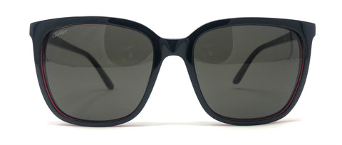 Cartier C Décor CT0004S Sunglasses - Black