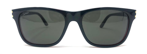 Cartier C Décor CT0001S Sunglasses - Black