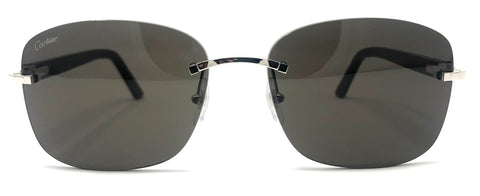Cartier C Décor CT0227S Sunglasses - Black