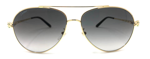 Cartier C Décor CT0233S Sunglasses - Gold