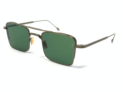 Jacques Marie Mage Sunglasses | Altamont Gold Antique
