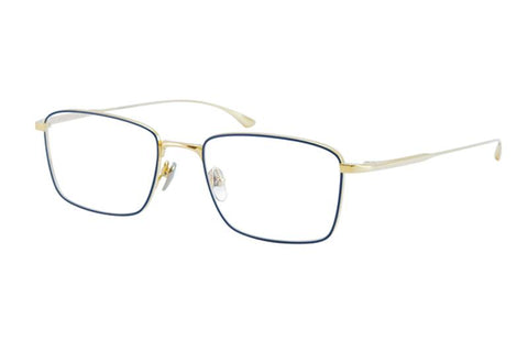 #11 Gold/Navy Lex Masunaga Eyewear ABC Glasses