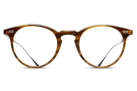 Light Brown M2026 Matsuda Eyewear ABC Glasses