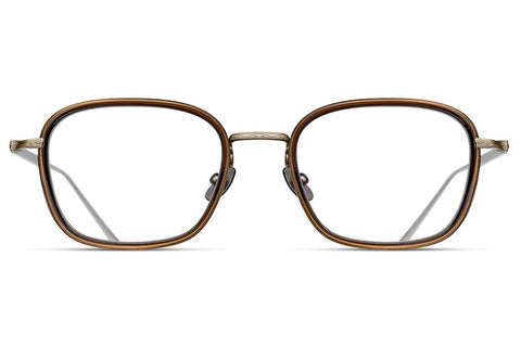 Antique Gold / Taupe M3075 Matsuda Eyewear ABC Glasses