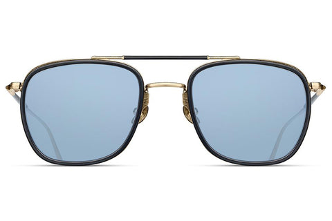 Brushed Gold / Matte Black M3081 Matsuda Sunglasses ABC Glasses