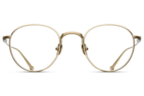 Brushed Gold M3085 Matsuda Eyewear ABC Glasses