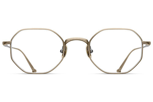 Antique Gold M3086 Matsuda Eyewear ABC Glasses
