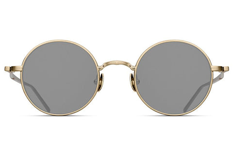 Brushed Gold M3087 Matsuda Sunglasses ABC Glasses