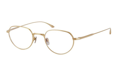 #11 Gold Met Masunaga Eyewear ABC Glasses
