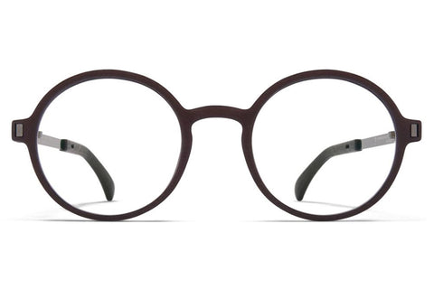 MH25 Ebony Brown/Shiny Graphite Peony Mykita Mylon Optical ABC Glasses