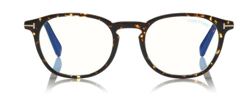 Tom Ford FT5583 Eyeglasses Dark Havana ABCGlasses