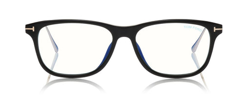 Tom Ford FT5589 B Eyeglasses Black ABCGlasses.com