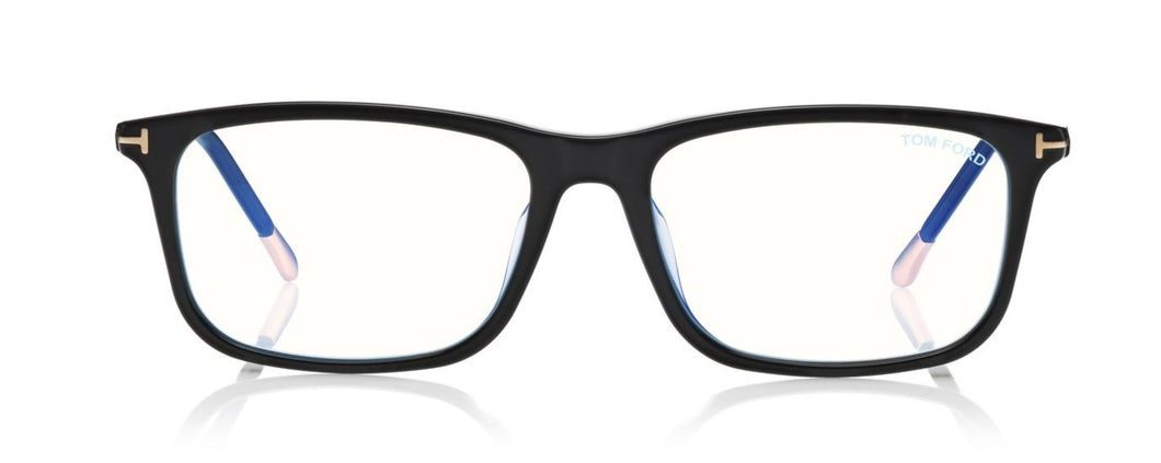 Tom Ford FT5646 D B Eyeglasses 001 Black ABCGlasses.com