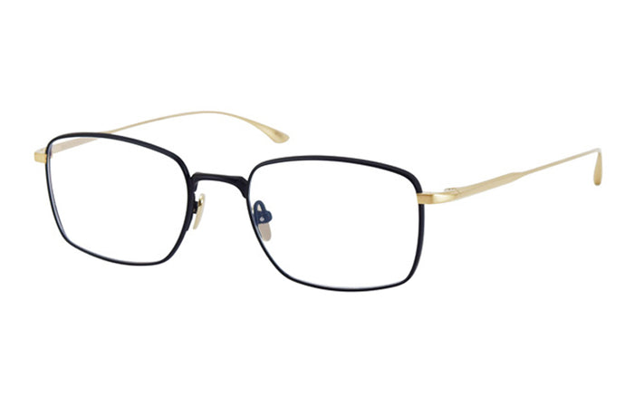 #19 Black/Gold Urbanite Masunaga Eyewear ABC Glasses